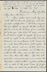 Letter from William Lloyd Garrison, Roxbury, [Mass.], to James Miller M'Kim, May 29, 1874
