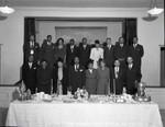 Dr A. R. Taylor with a church group