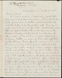 Letter from Richard Davis Webb, Philadelphia, [Pa.], to Elizabeth Pease Nichol, [June] 28, 1868
