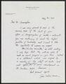 Dr. John Wilson Moore correspondence