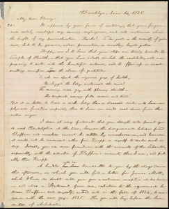 Letter from William Lloyd Garrison, Brooklyn, [Conn.], to Henry Egbert Benson, June 14, 1836