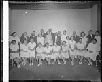 Mrs. Nell Hunter's Singers June 8, 1939. Song for King & Queen [cellulose acetate photonegative]