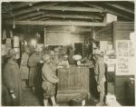 Stamp Counter'. Army Y.M.C.A. Building No. 1, Camp Travis, Texas