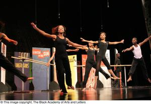 Dancers Performing Balet Hip Hop Broadway: The Musical