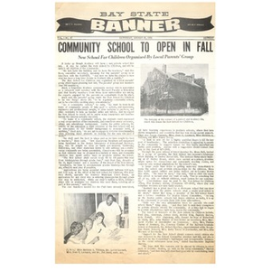 Community school to open in the fall.