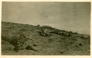 After the battle at Deir Sneid