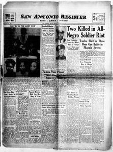San Antonio Register (San Antonio, Tex.), Vol. 12, No. 44, Ed. 1 Friday, December 4, 1942 San Antonio Register