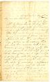 Correspondence from Mary Guthrie Latta to Samuel R. Latta II, August 19, 1861