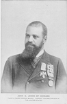 John G. Jones of Chicago : Thirty-third degree mason. Highest colored mason in the United States