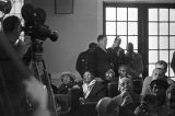 Audience at Tabernacle Baptist Church in Selma, Alabama, probably listening to Martin Luther King, Jr., speak.
