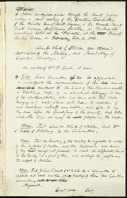 Minutes of meetings of the Worcester County Anti-Slavery Societies, North and South Divisions] [manuscript