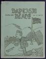Baptism Blade, March 1939
