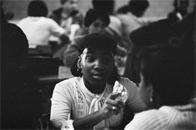 Students at Junior High School 149, 1976