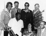 Mayor Tom Bradley with friends