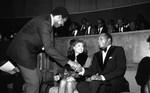Mayor Bradley with Vanessa Williams, Los Angeles, 1984