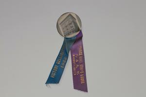 Badge for Prince Hall Grand Lodge F. & A. M. Massachusetts Victory Celebration