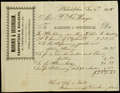 Receipt for house improvements, To: Patrick Barry Hayes, From: Marriner & Buckingham, December 31, 1858.