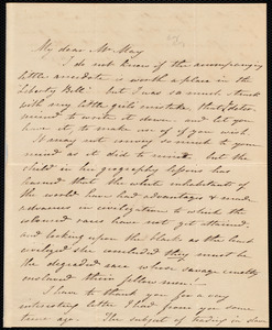 Letter from Frances Armstrong, Bristol, to Samuel May, August 17, 1846