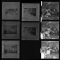 Set of negatives by Clinton Wright including a baptism, Ruben's birthday party, and copies for L.M. Neal 1967