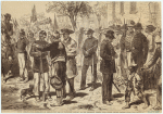 South Carolina--The Celebration Of Emancipation Day In Charleston, January 8th : The Procession Forming Near Citadel Square