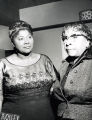 Mahalia Jackson and Shirley Graham DuBois