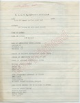 Unknown to [James Meredith] N.A.A.C.P. Application (Undated)