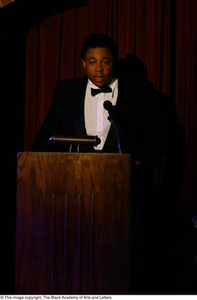 Thumbnail for Vincent Cook Speaking at Podium Ali...The Man, The Myth, The People's Champion
