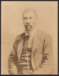 Albumen print of Rev. Nelson W. Jordan
