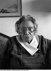 Mable Chandler seated for portrait #2 Dallas/Fort Worth Black Living Legends Dallas/Fort Worth Black Living Legends, 1992