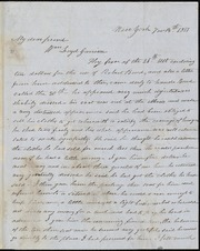 Letter to] My dear friend, Wm L[l]oyd Garrison [manuscript