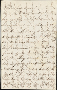 Letter from Isabella Massie to Mary Anne Estlin