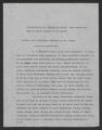 Reports, Outlines, and Miscellaneous, of the Director, 1913