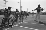 Students on Bicycles, Los Angeles, 1983