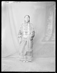 Dakota Rosebud Reservation woman, Susie Thunder Hawk, U. S. Indian School, St Louis, Missouri 1904
