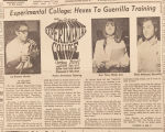 """""""Experimental College: Hexes To Guerrilla Training."""""""