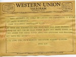 L. John Collins, Chairman Christian Action to James Meredith (Undated)
