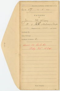 Case File of James M. Shaw