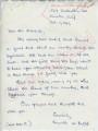 Annette W. Bristol to Mr. Meredith (1 October 1962)