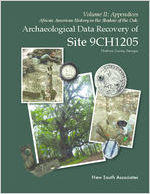 Volume II: appendices - African American history in the shadow of the oak: archaeological data recovery of site 9CH1205, Chatham County, Georgia [May 19, 2014]