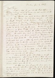 Letter to] Dear George [manuscript