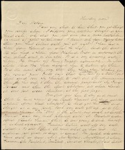 Letter to] Dear Debora[h] [manuscript