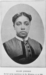 Ellen Johnson in her early experience in the ministry, or in 1868