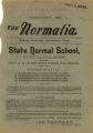 The Normalia, 1894-02