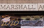 2020 graduating class, Thurgood Marshall Academy, W. 135th St. at Adam Clayton Powell Blvd., Harlem
