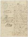 Cartas relacionadas a la petición del liberto Daniel Betancourt y la detención del patrocinado Federico Lombal, febrero-marzo de 1883