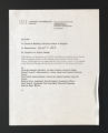 Administration. Alphabetical. Cultural Centers, 1989-1990. (Box 320, Folder 13)