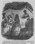 If any one had ever envied Mrs. Helm in her drawing-room, richly attired and sparkling with jewels, or as she moved with the stately step of a queen among her trembling slaves, they should have beheld her on her death-bed.""