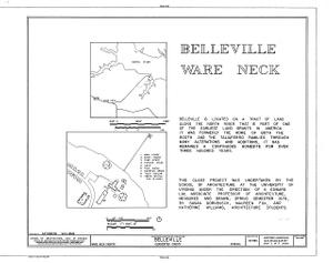 Belleville, North River & Belleville Creek vicinity, Ware Neck, Gloucester County, VA