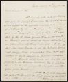 David Brydie Mitchell letter to Gov. Jose Coppinger, 1820