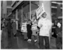 NAACP members picketing outside Woolworth's for integrated lunch counters, St. Paul.